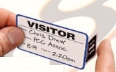 Self Expiring Visitor Badges