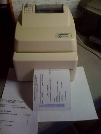 Thermal Printer Rx Paper Rolls Datamax