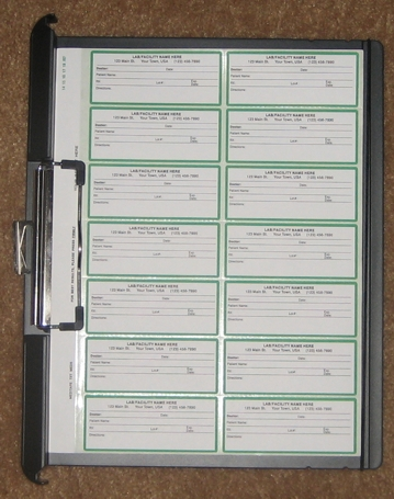 Sample Medication Label Recording System